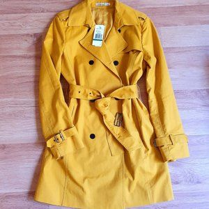 💜 Kenneth Cole NY Trench Coat, Size L